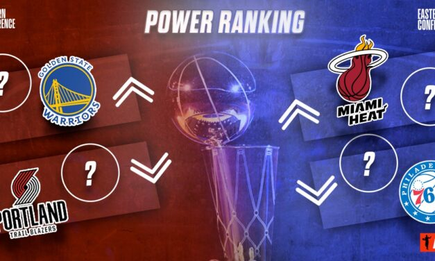 Power Ranking: Eastern Conference