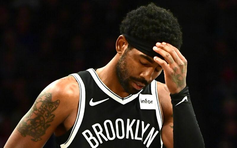 Nets: Kyrie Irving è fuori squadra